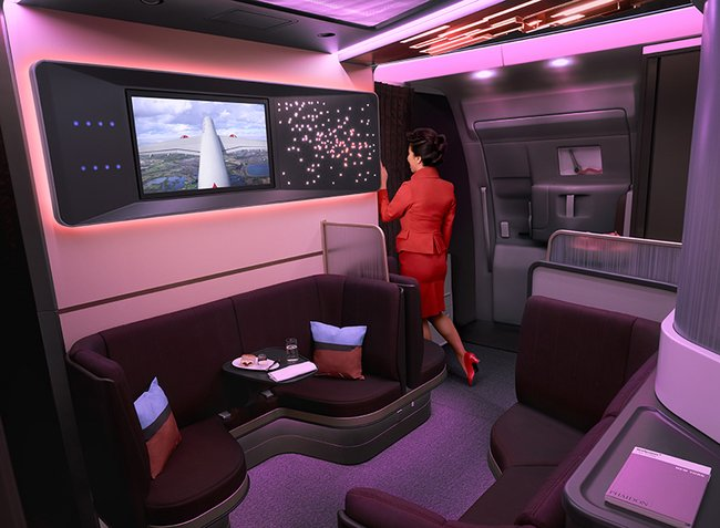 Virgin Atlantic Airbus A350 Loft