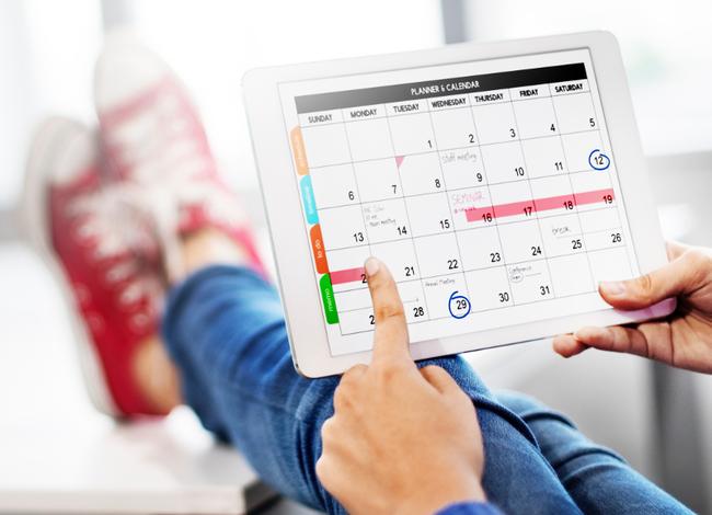 Stock Photo Calendar