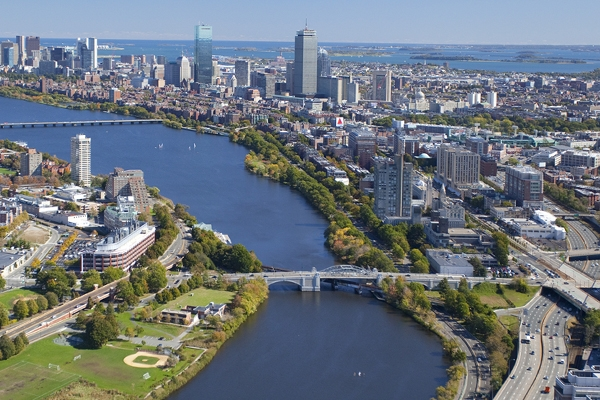 Cambridge, MA, and Boston