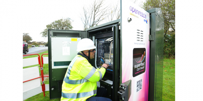 Openreach superfast broadband