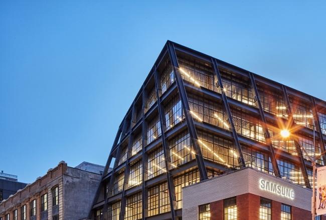 Samsung building new york