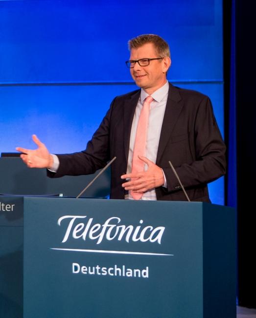 Thorsten Dirks, Telefónica Deutschland CEO