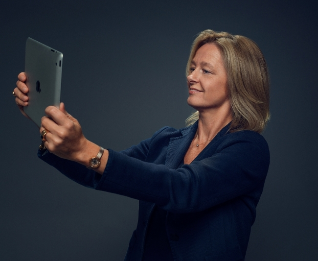 Allison Kirkby, president and CEO of Tele2