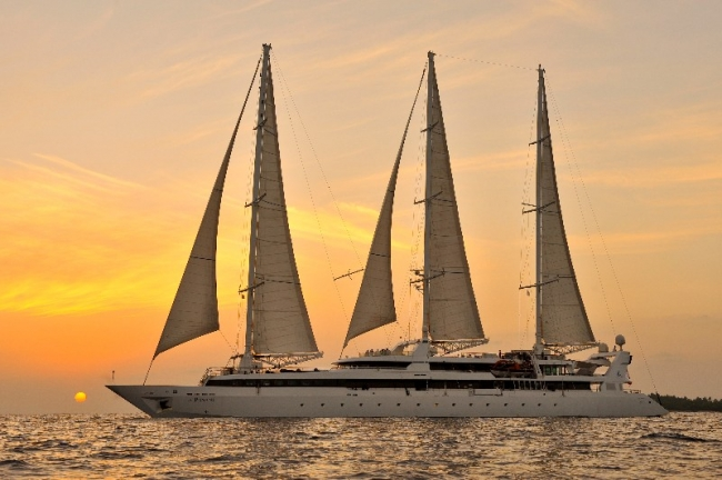 Ponant's Le Ponant Sails the Globe. Photo by Francois Lefebvre provided courtesy of Ponant. Editorial Use Only