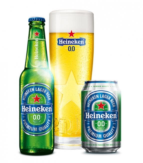 Heineken zero alcohol beer