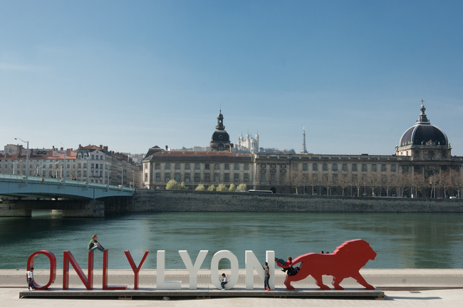River in Lyon