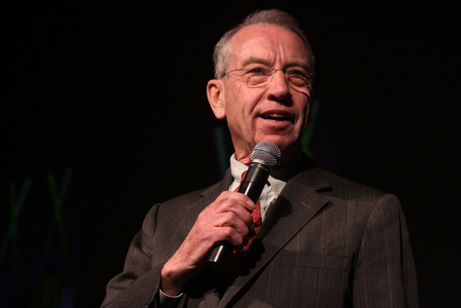 Chuck Grassley speaking