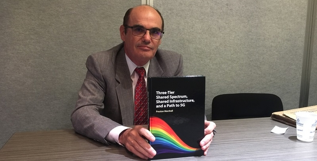 Google Preston Marshall with his CBRS book