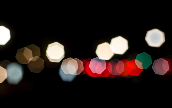 blurry lights
