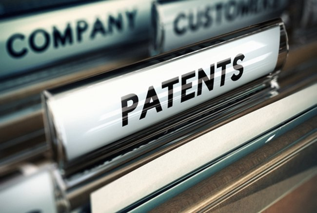 Patents on file