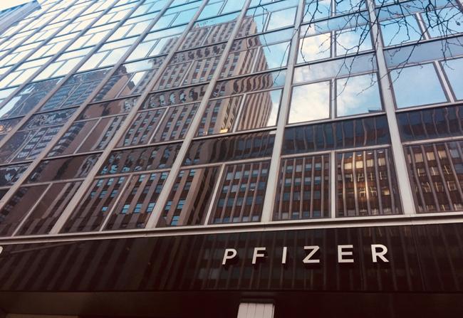 Pfizer building
