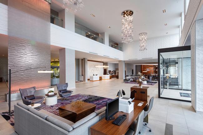 MatchLine Design Group inspired by desert landscape in design of Embassy Suites Amarillo-Downtown.