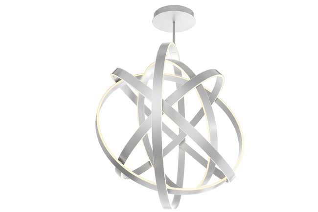Modern Forms added a 60-inch chandelier to its Kinetic family.