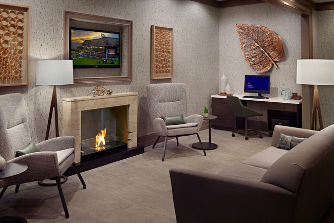 //3877 and P3 Design Collective collaborate for Alpharetta Marriott renovation.