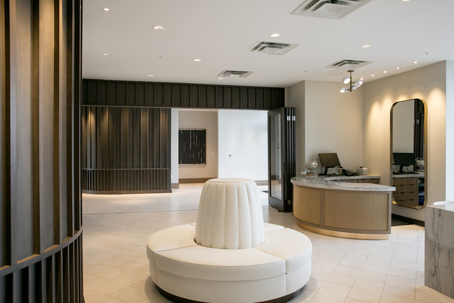 Stonehill Taylor merges residential features with organic materials in design of JW Marriott Nashville's spa.