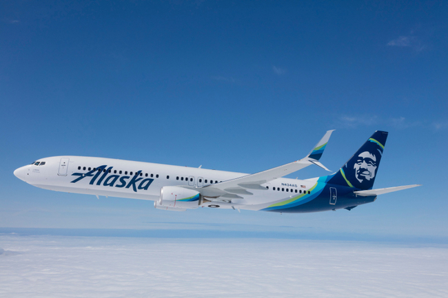 One of Alaska Airlines' E175 Crafts