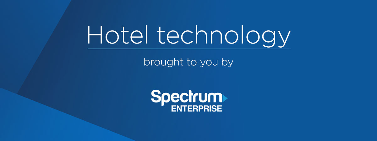 Hotel technology brought to you by Spectrum Enterprise