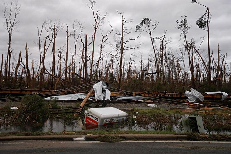 tropical storm michael moves across carolinas flight disruptions