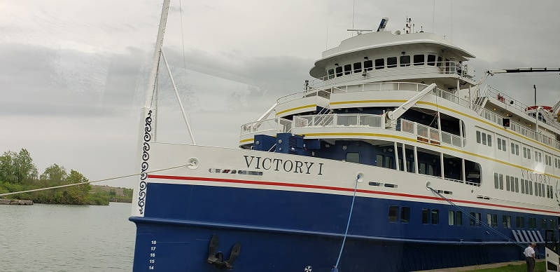 On Site: Victory Cruise Lines' Victory I Launches Great