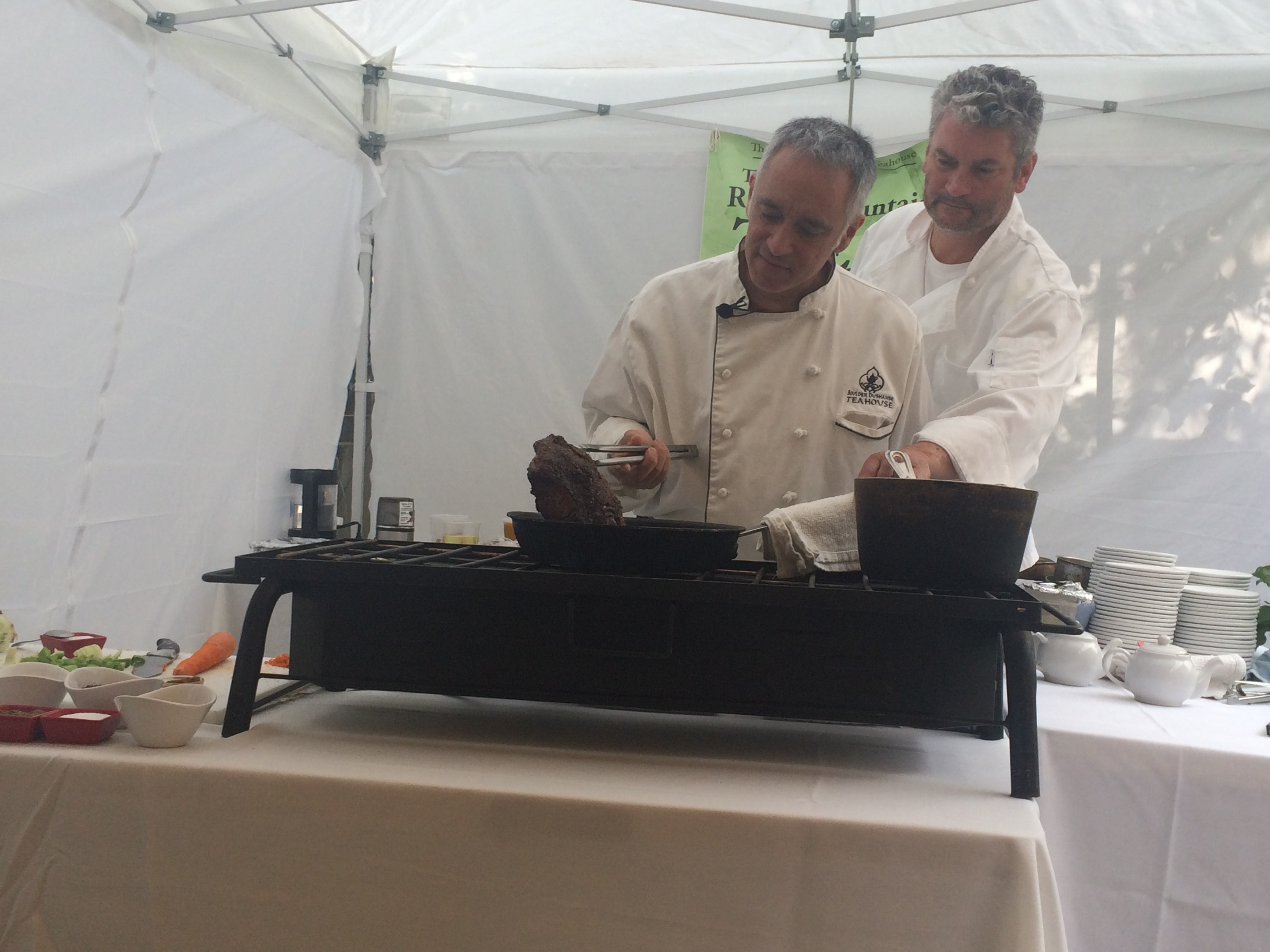 Cooking with Tea with Teahouse Chef/Owner Lenny Martinelli