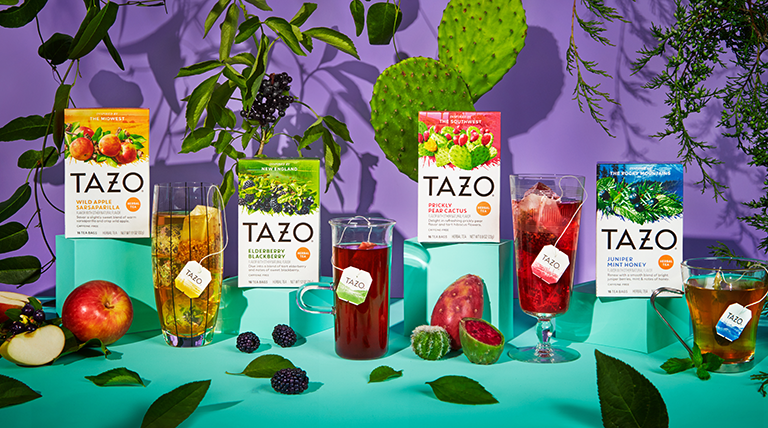 TAZO Foragers Blends Represent 4